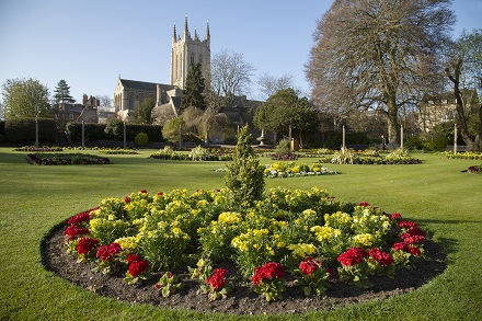 Abbey Gardens guided tours