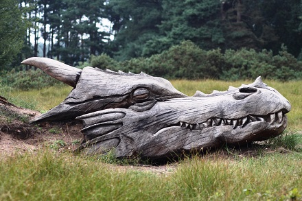 Dragon at West Stow