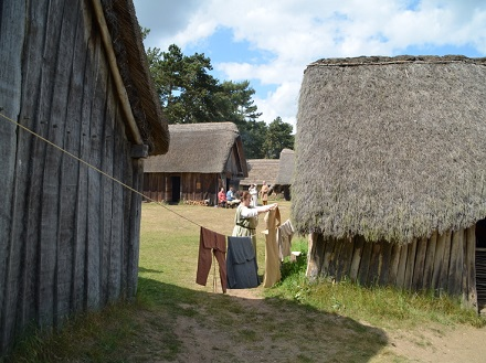 Reenactment at West Stow