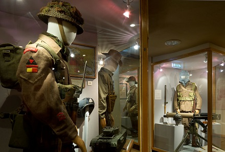 Regiment Gallery at Moyse's Hall Museum